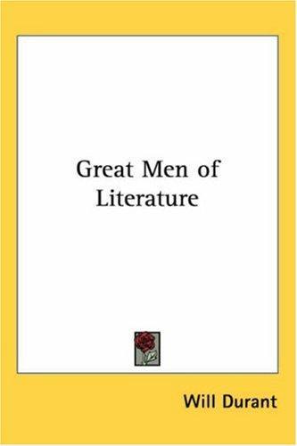 Great Men of Literature