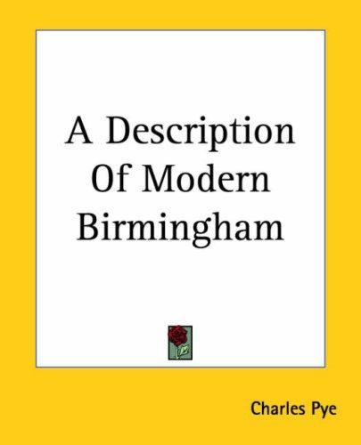 A Description Of Modern Birmingham
