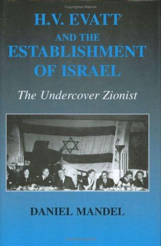 HV Evatt and the Establishment of Israel