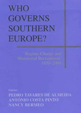 Who governs Southern Europe? by