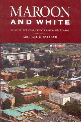 Maroon and White by Michael B. Ballard