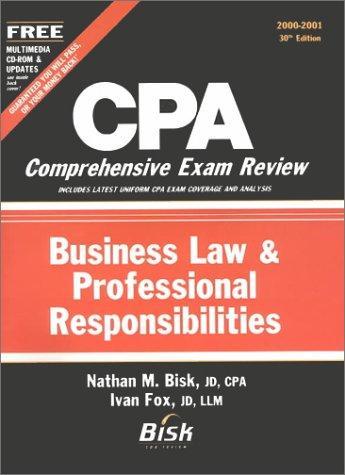 CPA Comprehensive Exam Review, 2000-2001