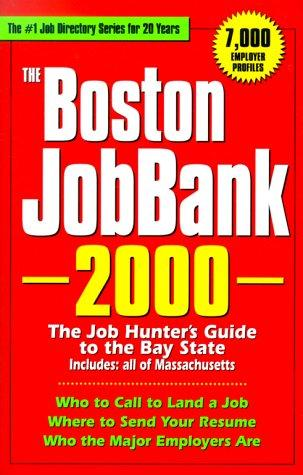 The Boston JobBank, 2000 by Steven Graber