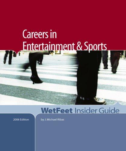 Careers in Entertainment and Sports by J. Michael Ribas