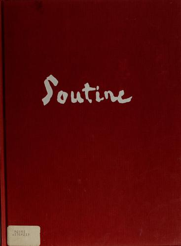 Soutine by Raymond Cogniat