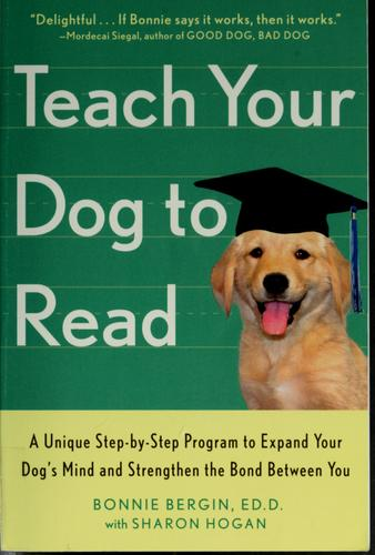 Teach your dog to read by Bonnie Bergin