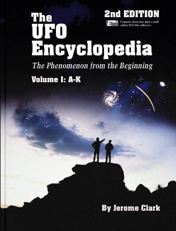The UFO encyclopedia by Jerome Clark