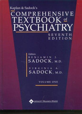 Kaplan and Sadock's Comprehensive Textbook of Psychiatry (CD-ROM for Windows & Macintosh, Single Seat Multi-User) by Benjamin J. Sadock