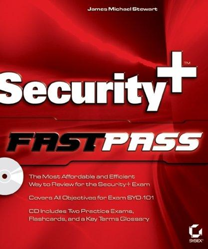 Security+ fastpass by James Michael Stewart