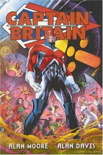 Captain Britain TPB by Alan Moore