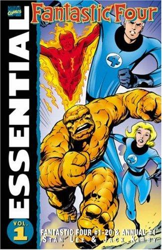 Essential Fantastic Four, Vol. 1 by Jack Kirby