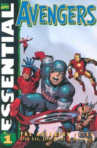 Essential Avengers, Vol. 1 by Jack Kirby