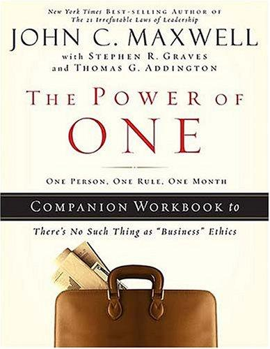 The Power of One by John C. Maxwell