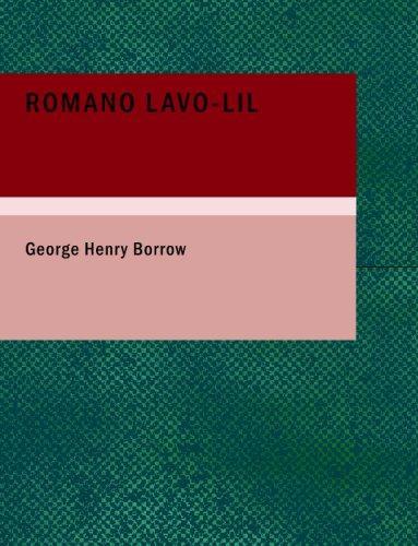 Romano Lavo-Lil (Large Print Edition)