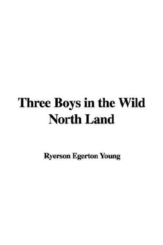 Three Boys in the Wild North Land by Ryerson Egerton Young