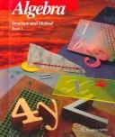 Algebra Structure and Method Book 1 by Richard G. Brown