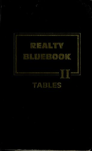 1989 realty bluebook by Robert De Heer