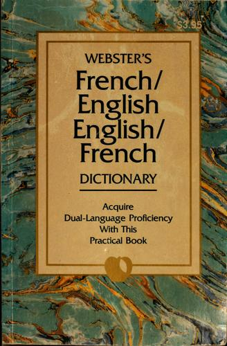 French/English, English/French dictionary by