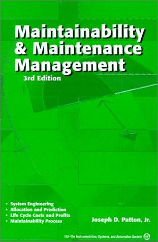 Maintainability & Maintenance Management
