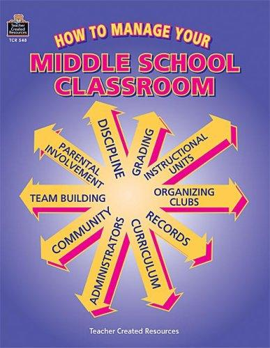 How to Manage Your Middle School Classroom by JEFF WILLIAMS