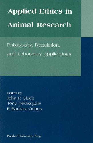 Applied ethics in animal research by