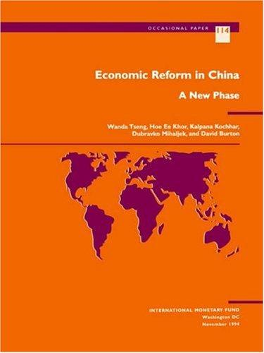 Economic reform in China by Wanda Tseng