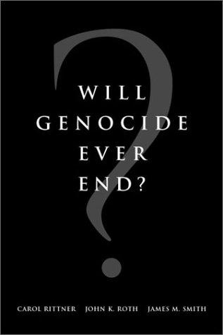 Will Genocide Ever End? by Aegis (Organization)