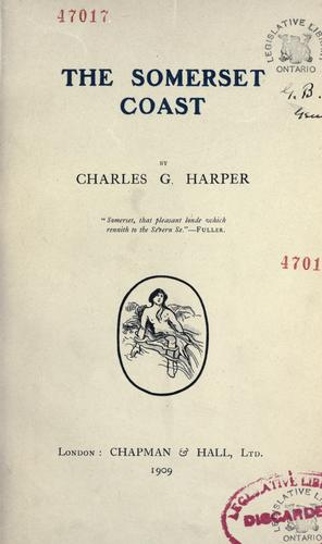 The Somerset coast by Harper, Charles G.