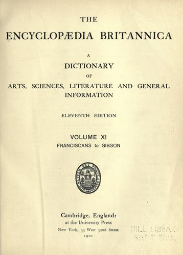 The Encyclopaedia Britannica by