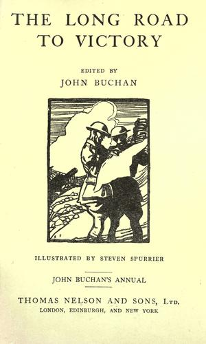 The long road to victory by John Buchan