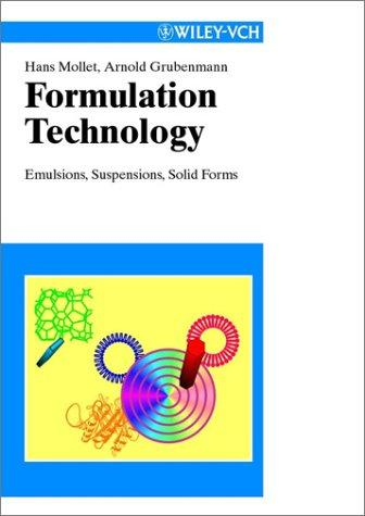 Formulation technology by Hans Mollet