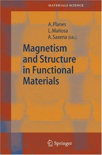 Magnetism and Structure in Functional Materials by