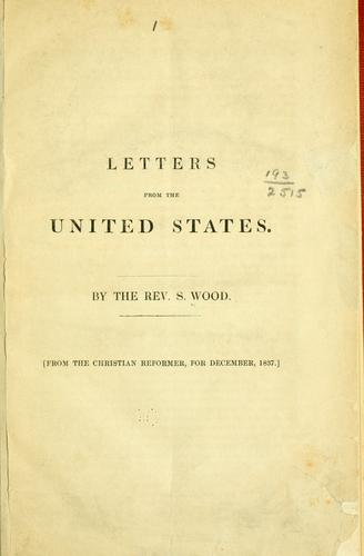 Letters from the United States by Larry Freeman