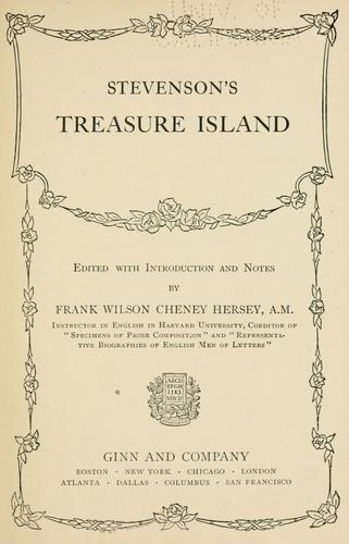 Stevenson's Treasure Island by Robert Louis Stevenson