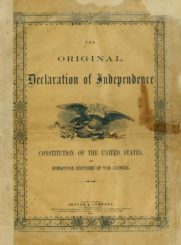 Declaration of Independence by United States