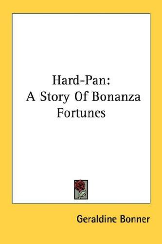 Hard-pan by Bonner, Geraldine