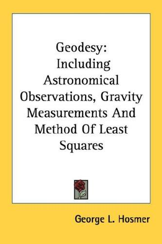 Geodesy by George L. Hosmer