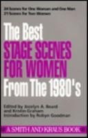 The best stage scenes for women from the 1980's by Jocelyn Beard, Kristin Graham