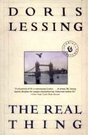 The real thing by Doris Lessing