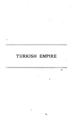 Cotton textile trade in Turkish empire, Greece, and Italy by United States. Department of Commerce and Labor.