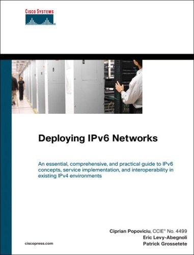 Deploying IPv6 networks by