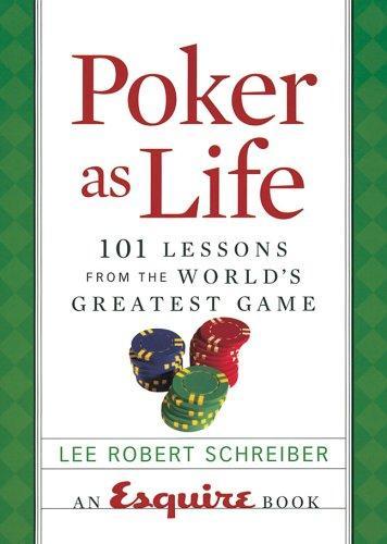 Poker as Life