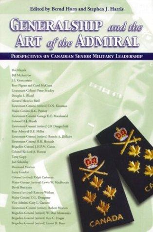 Generalship and the Art of the Admiral by Bernd Horn