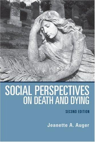 Social Perspectives on Death and Dying