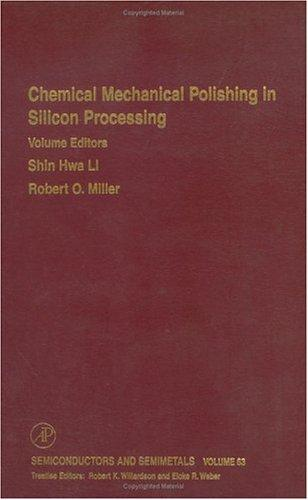 Chemical mechanical polishing in silicon processing by