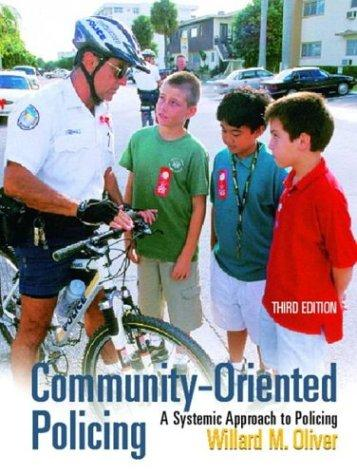 Community-Oriented Policing