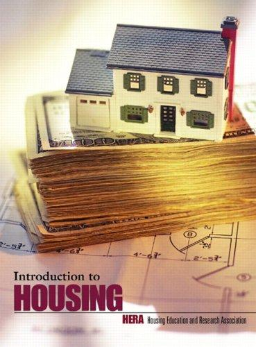 Introduction to housing by edited by John L. Merrill ... [et al.].