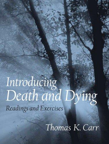 Introducing Death and Dying