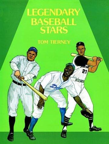Legendary Baseball Stars Paper Dolls in Full Color by Tom Tierney