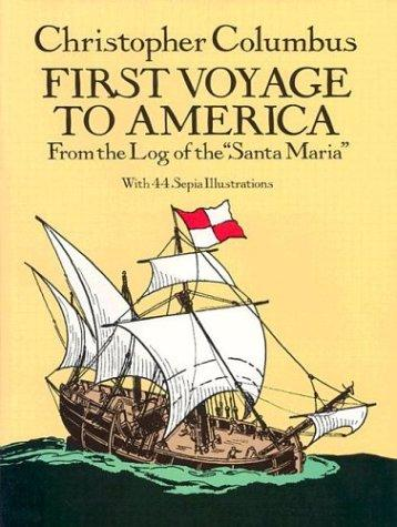 First voyage to America by Christopher Columbus